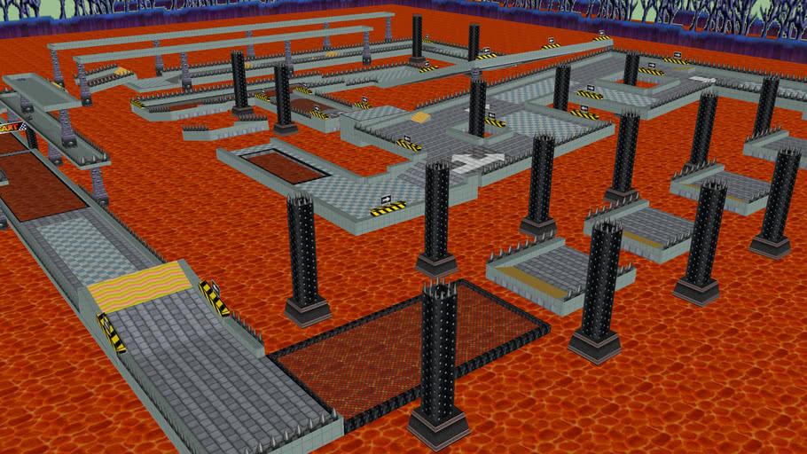 SNES Bowser Castle 2 (Yoshi74)