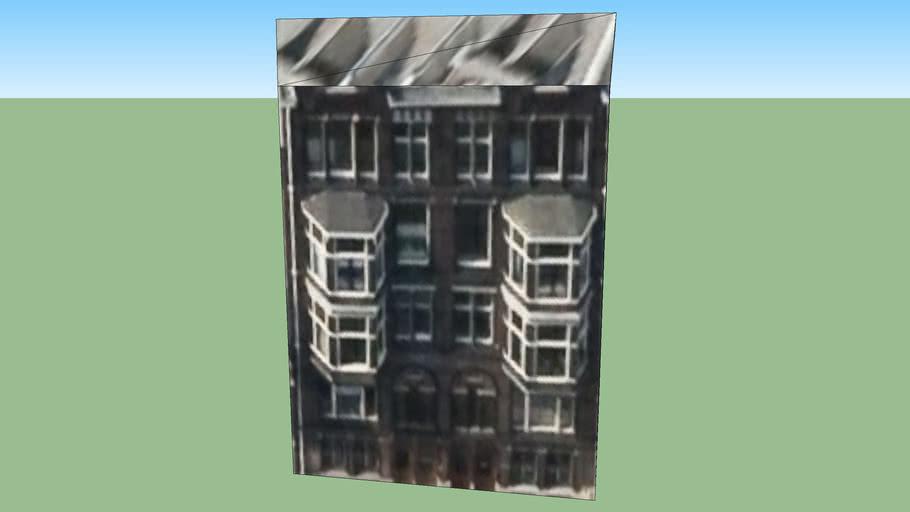 Building in Amsterdam, Hollanda