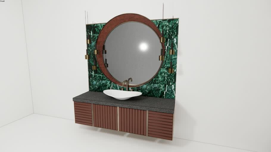 Bathroom Cabinet Mirror Luxry 3d, Bathroom Cabinet Warehouse
