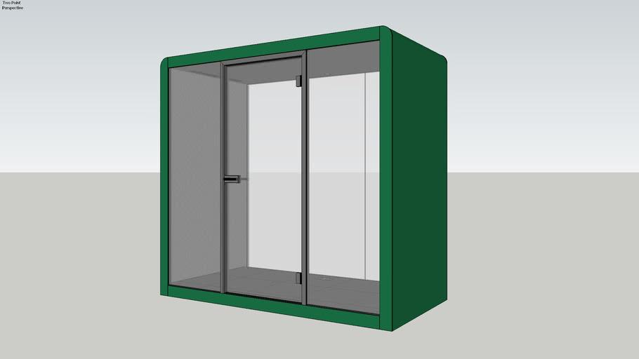 Silen Space 2 Signal Green Office Pod