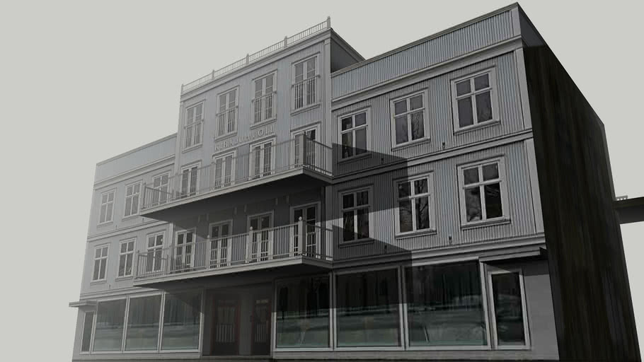 Kirkjutorg 4, Reykjavík  (Part 1)