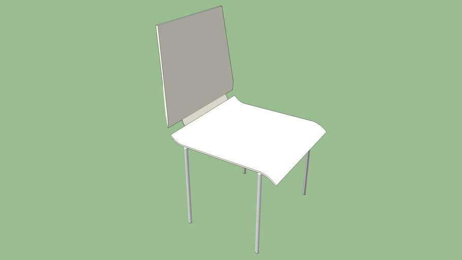 Ikea Gilbert Dining Room Chair - White
