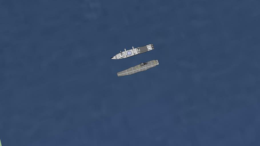 เรือรบหลวงจักรีและเรือหลวงสิมิลัน