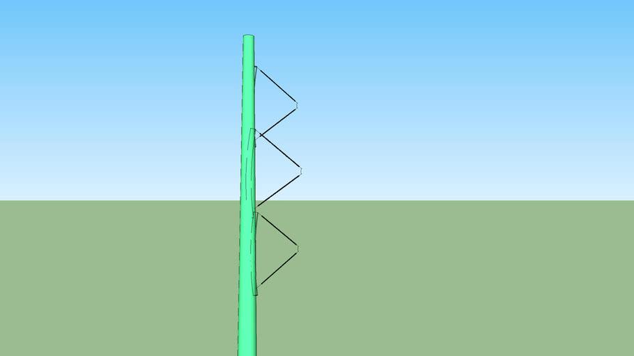 KV Electrical pole