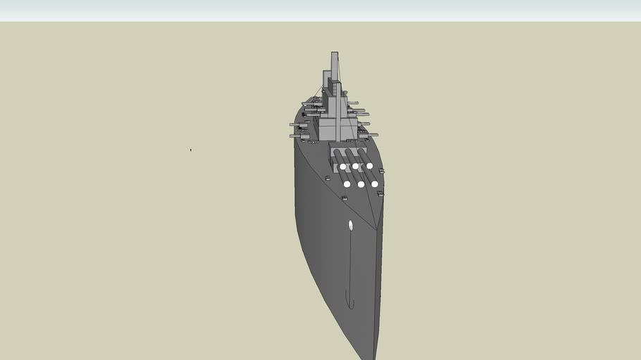 USS Washington-BB56 (~1943)