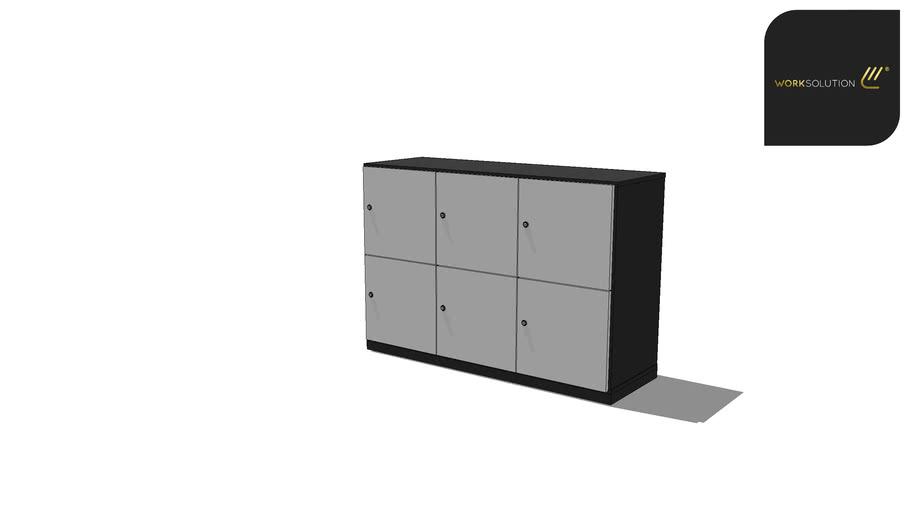 Escaninho - 3T6P- Chave - Arquivamento - Linha Locker