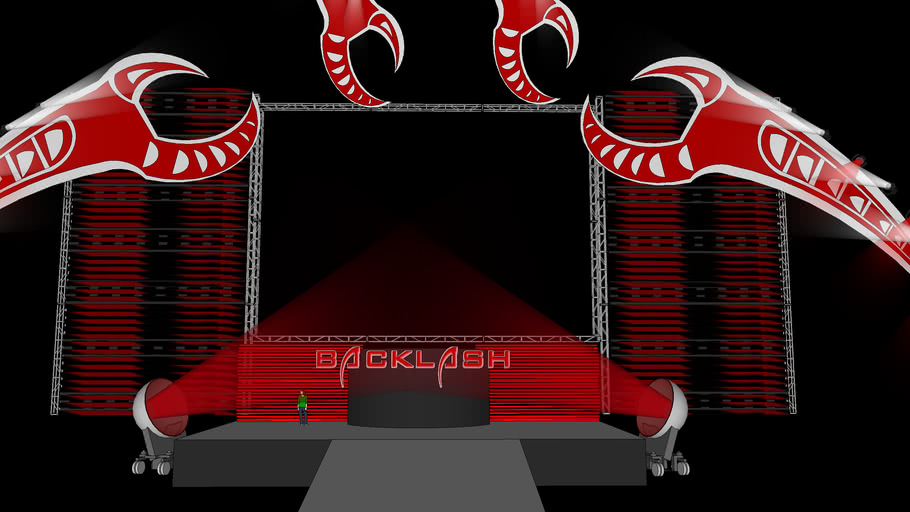WWE Backlash 2009 Stage