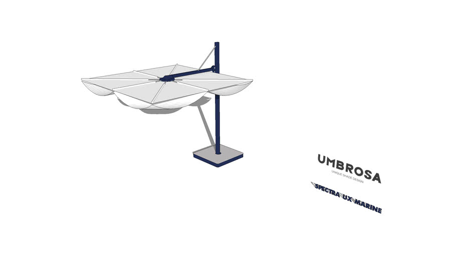SPECTRA UX MARINE Freestanding Umbrella By Umbrosa