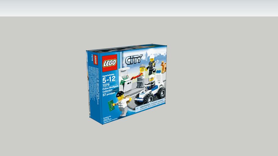 Caixa de brinquedo LEGO II - Lego Box Toys II
