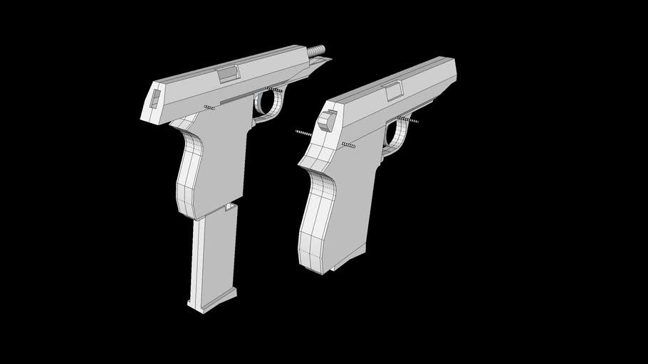 Paper Gun Blueprint