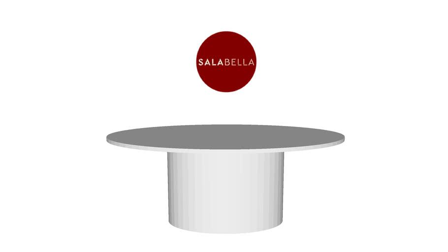 Mesa de jantar oval