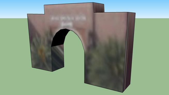 West Entry Arch, Laugh Stop, 101 Fortune Dr, Irvine Spectrum, Irvine