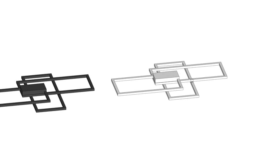 """Plafon """"Quadrus"""" - PL-099/86.27BF e PF"""