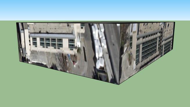 Gebäude in Los Angeles, CA, USA