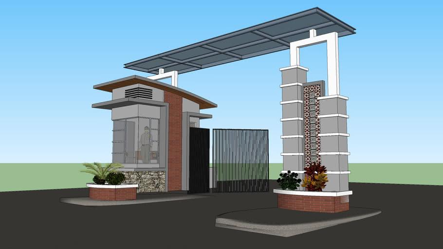 Main Gate 3d Warehouse