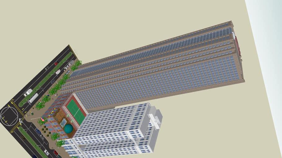 Cityscape Trade Center (1.5million edges!)