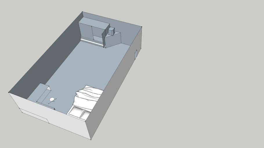 slaapkamer op sgaal