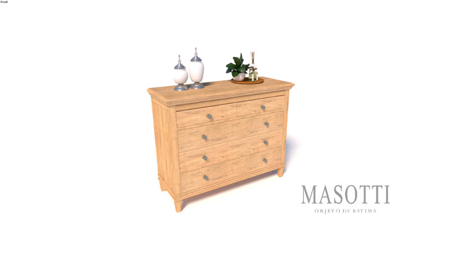 Comoda Coleção Masotti MAS.352.0 F15
