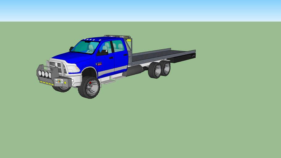 2012 Dodge Ram Recovery Truck