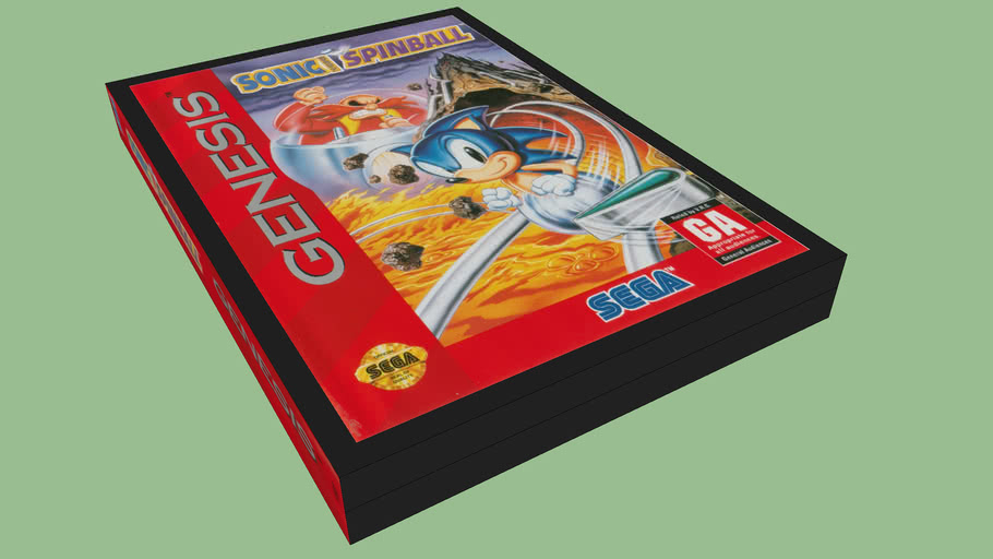 Sonic Spinball Case