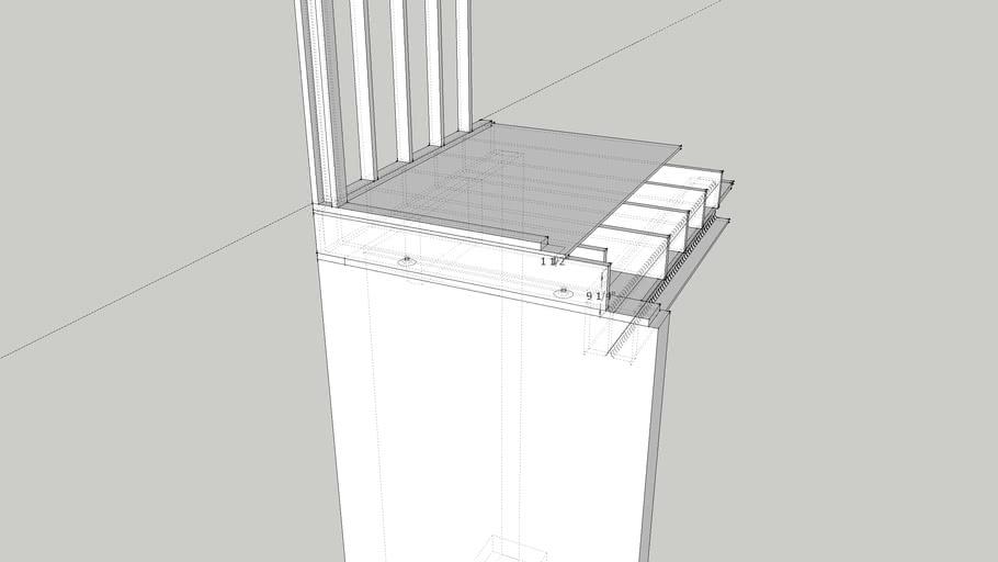 Standard Stick Framing on Foundation