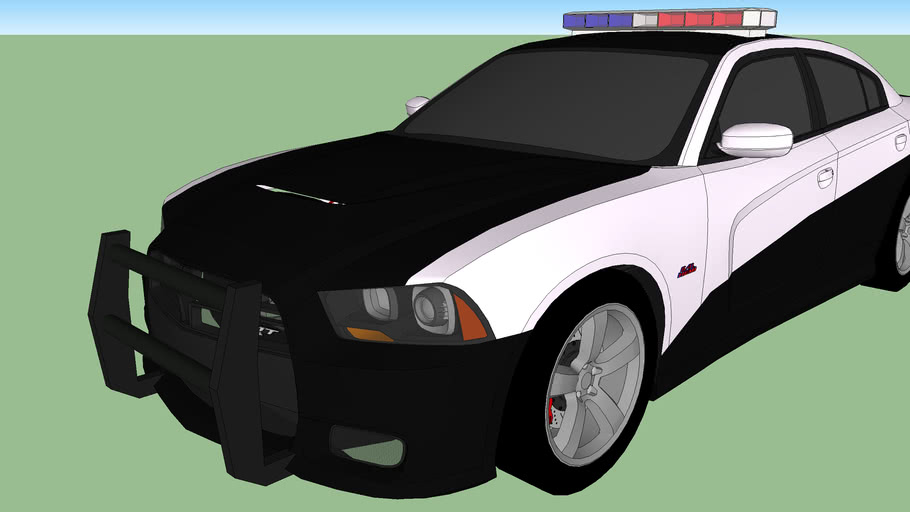 Dodge Charger Police Car (Fast Five)