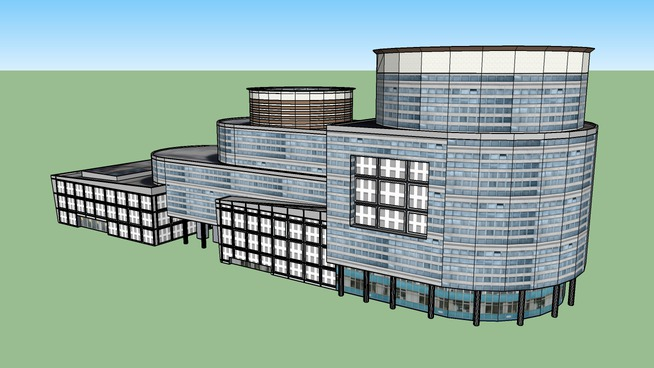 DLF Building - 10, Gurgaon (INDIA)