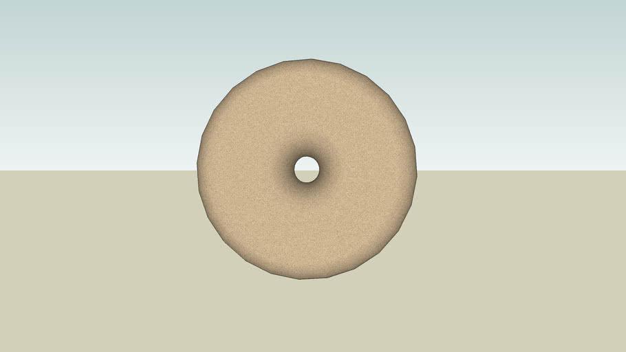 HUGE Chocolate Sprinkled Donut
