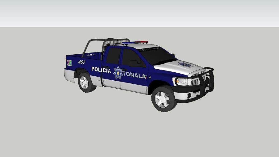 patrulla de la policia municipal de tonala jalisco