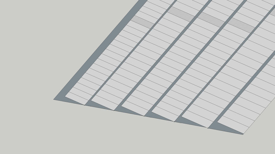 solar plant 70*45 foot rooftop area