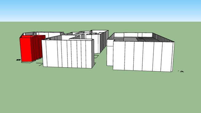 Blok met zaanstraat 88 Badhuis