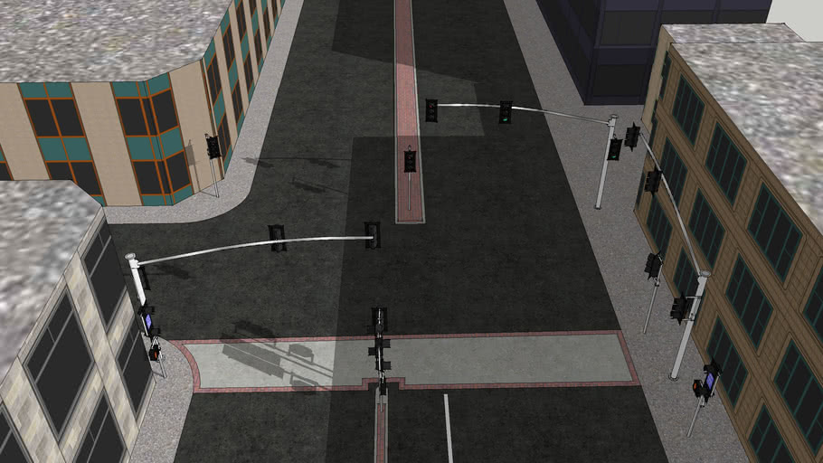 Median Intersection