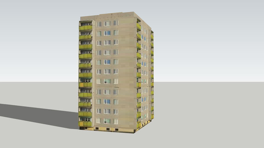 Blok mieszkalny na osiedlu Zatorze w Koninie