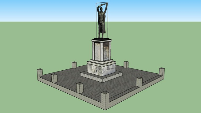 Споменик палим борцима, Тешица