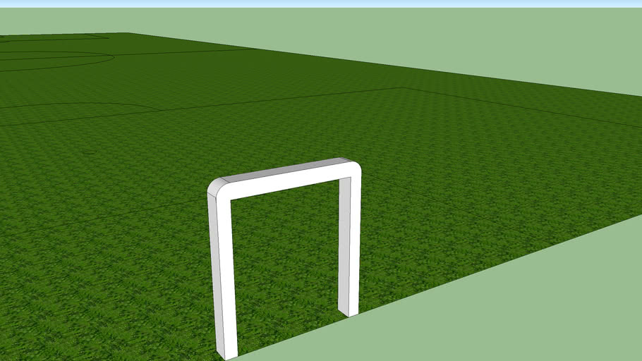 Regulation soccer field.