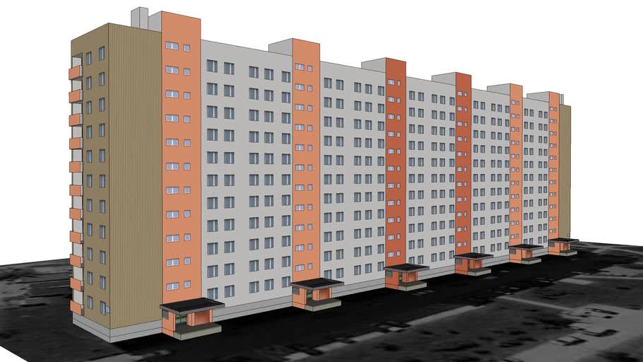 Blok nr 16 przy ul. Mała Góra