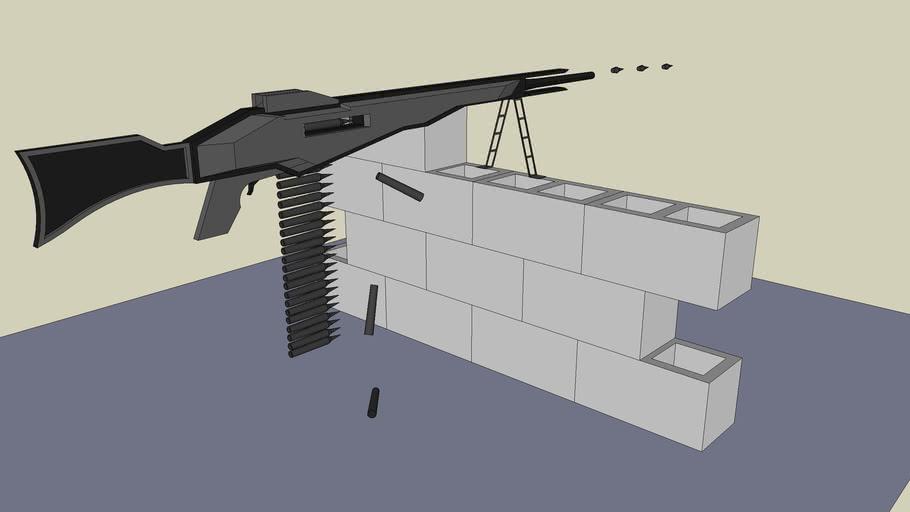 M-28 Heavy Machine Gun