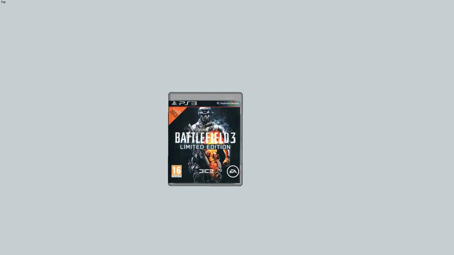 boite de rangement battlefield 3 sur ps3