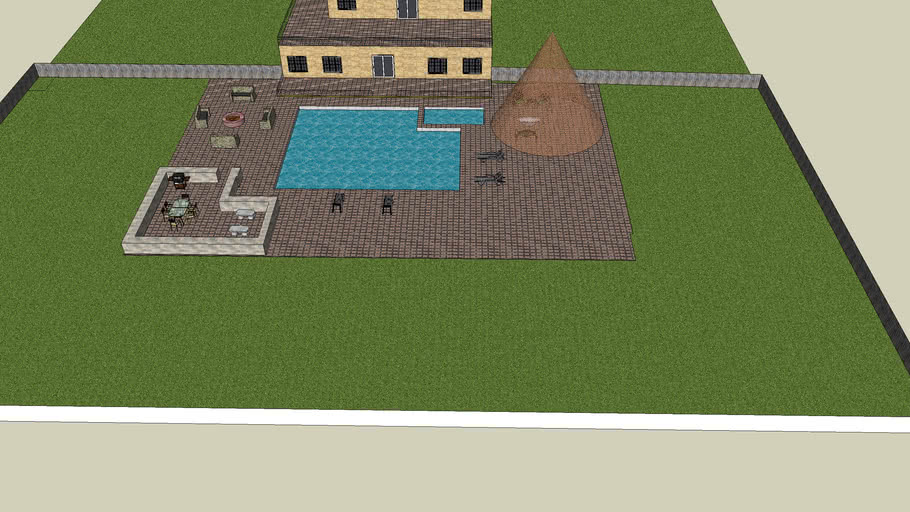 house with pool.