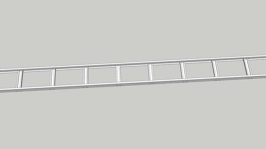 200mmケーブルラック直線