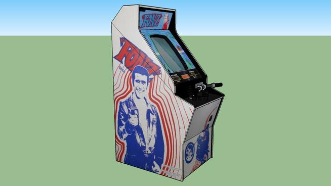 Fonz arcade game