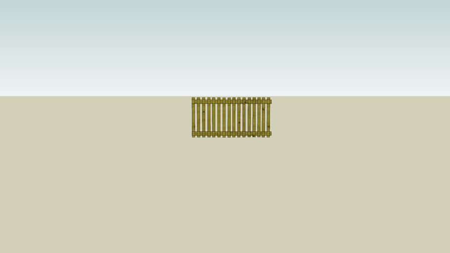 Palisade fence 1.8 mtr 2D