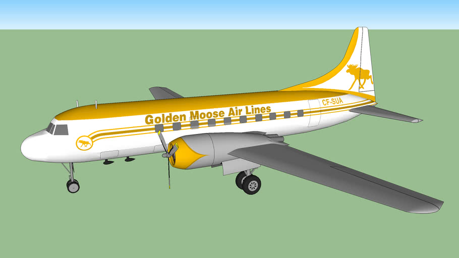Golden Moose Air Lines CV-240 (1949)