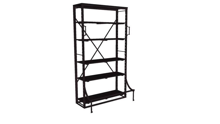 82853 Shelf Library Single