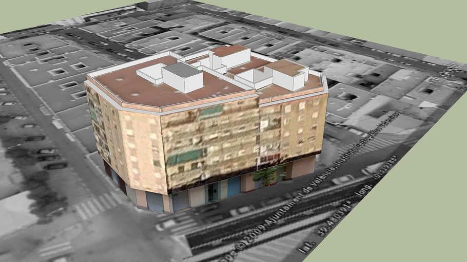 Edificio Viviendas C/Vicente la Roda - Malvarrosa - Valencia