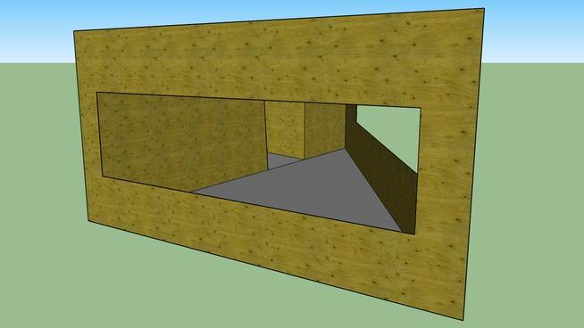 wooden bunker #1