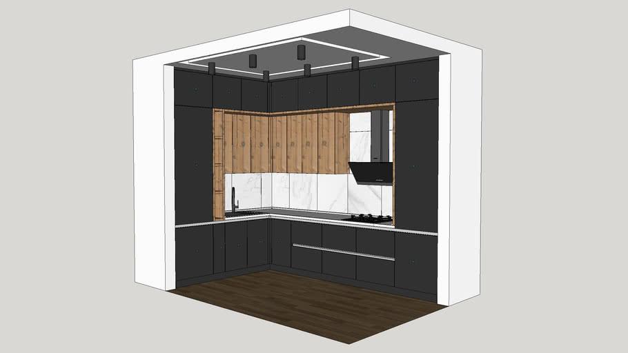 EasyKitchen: Кухонный гарнитур с динамическими функциями