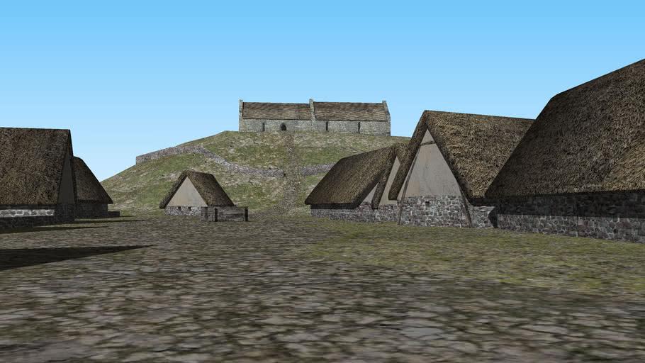 Medieval Scottish village (14th century)
