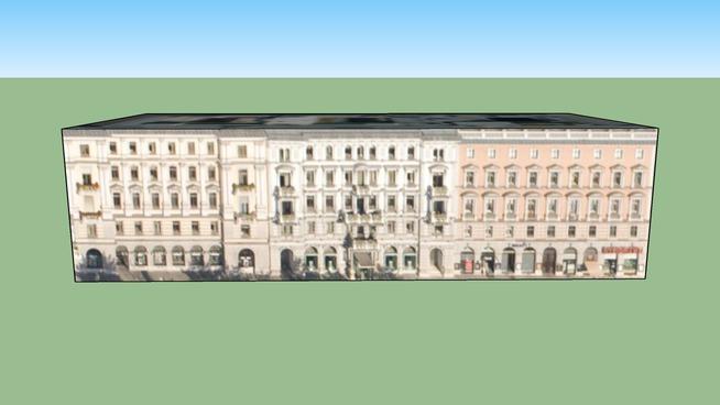 Budynek przy Wien, 1010 Wiedeń, Austria