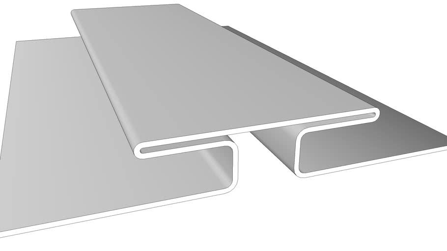 3D - 52505 3/8 in H-Bar